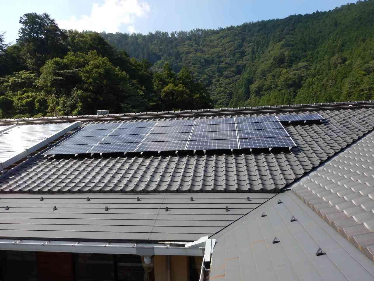 太陽光発電 施工事例 高知